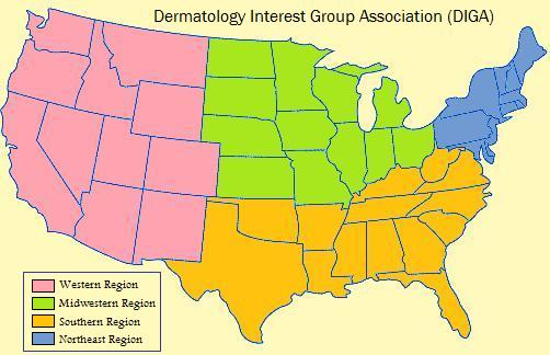 Color-coded DIGA regions - Final